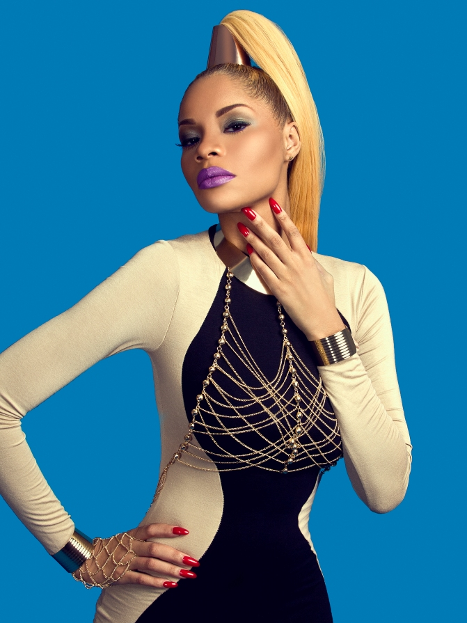 Glammed up: Shoot with Elvis Piedra featuring Cressida and Stylist India Monae