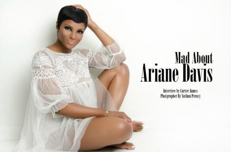 #LAHHATL Ariane Davis rocking iM for Urban Socialites Mag!