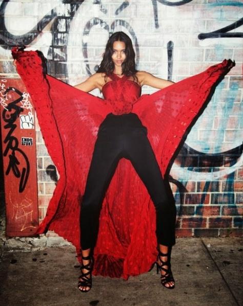 Lais Ribeiro- Flaunt Magazine November 2013
