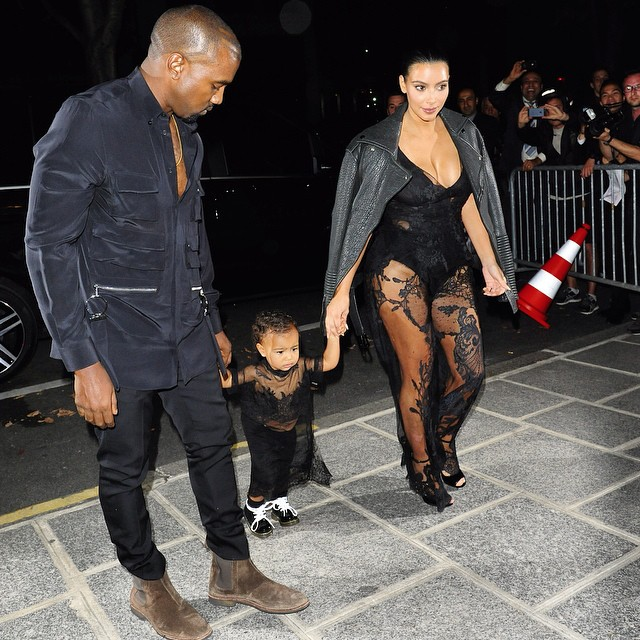 Style Spotlight: The Wests for Paris Fashion Week